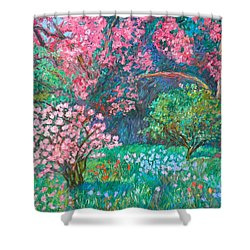 A Memory Shower Curtain by Kendall Kessler
