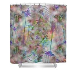 A Midsummer Night's Dream Shower Curtain by RC DeWinter