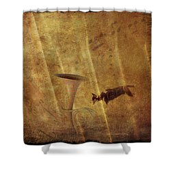 A Mirage Of Music Shower Curtain by Suzy Norris