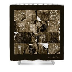 A Moment In Time Shower Curtain by Kurt Van Wagner