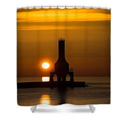 A New Day Shower Curtain by James  Meyer