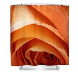 A Pareo Rose Shower Curtain by Joe Kozlowski