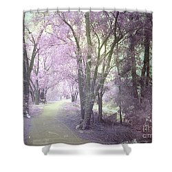 A Pastel Past Shower Curtain by Tara Turner