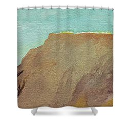 A Private Spot Shower Curtain by Joseph Demaree