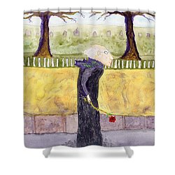 A Rose For My Dear Shower Curtain by Jim Taylor