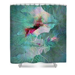 A Sacred Place - Abstract Art Shower Curtain by Jaison Cianelli