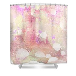 A Sparrow Sings Alone Shower Curtain by Rachel Christine Nowicki
