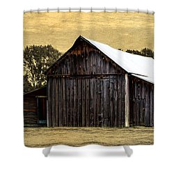 A Step Out Of Time Shower Curtain by Jordan Blackstone