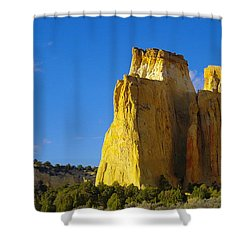 A View In The Grand Escalante Staircase Shower Curtain by Jeff Swan