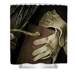 A Woman's Touch Shower Curtain by Amy Weiss