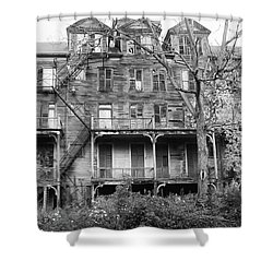 Abandoned 8284 Shower Curtain by Guy Whiteley
