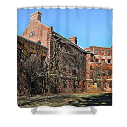 Abandoned Asylum Shower Curtain by Bill Cannon