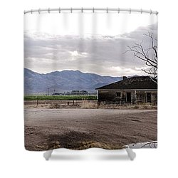 Abandoned House Shower Curtain by Swift Family