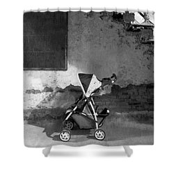Abandoned - Left Behind  Shower Curtain by Mike Savad