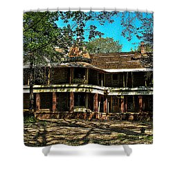 Abandoned Mansion Shower Curtain by Kristie  Bonnewell