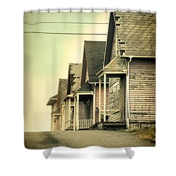Abandoned Shacks Shower Curtain by Jill Battaglia