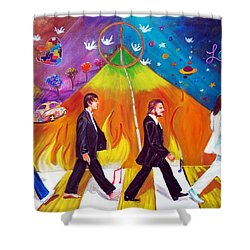 Abbey Road Shower Curtain by To-Tam Gerwe