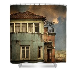Absence 16 44 Shower Curtain by Taylan Soyturk