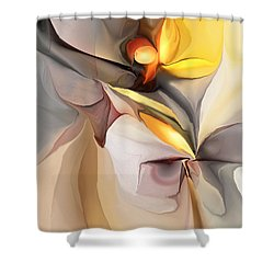 Abstract 060213 Shower Curtain by David Lane