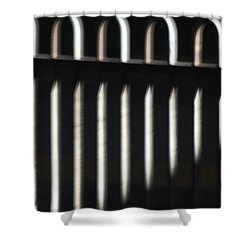 Abstract 16 Shower Curtain by Tony Cordoza