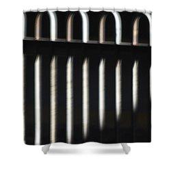 Abstract 16 Shower Curtain by Tony Cordoza
