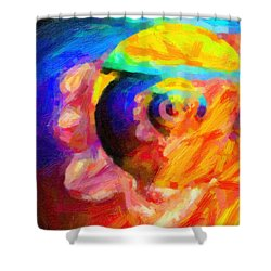 Abstract 18 Shower Curtain by Kenny Francis