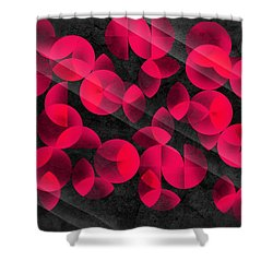 Abstract 4  Shower Curtain by Mark Ashkenazi