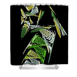 Abstract Bugs Vertical Shower Curtain by Andee Design