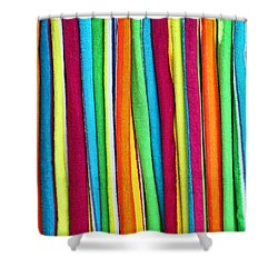 Abstract  Shower Curtain by Marcia Colelli