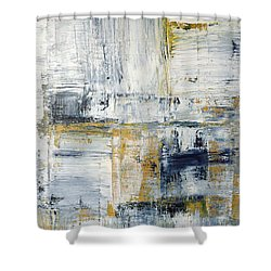 Abstract Painting No. 2 Shower Curtain by Julie Niemela