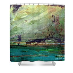 Abstract Print 4 Shower Curtain by Filippo B