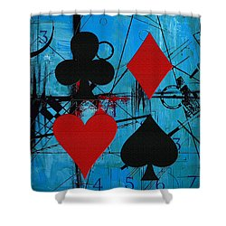 Abstract Tarot Art 012 Shower Curtain by Corporate Art Task Force