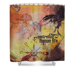 Abstract Tarot Art 023 Shower Curtain by Corporate Art Task Force