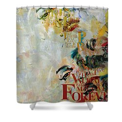 Abstract Women 018 Shower Curtain by Corporate Art Task Force