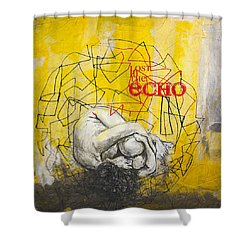 Abstract Women 022 Shower Curtain by Corporate Art Task Force
