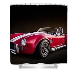 Ac Cobra Shower Curtain by Douglas Pittman