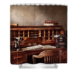 Accountant - Accounting Firm Shower Curtain by Mike Savad