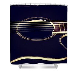 Acoustically Sound Shower Curtain by Karol Livote