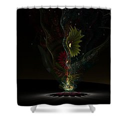 Affinity Shower Curtain by Peter R Nicholls