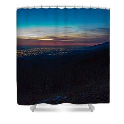 After Dark Shower Curtain by Heidi Smith