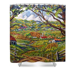 After The Rain By Prankearts Shower Curtain by Richard T Pranke