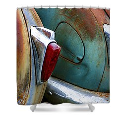 Aging Lovers Shower Curtain by Jean Noren