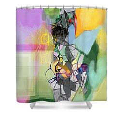 Aging Process 11cf Shower Curtain by David Baruch Wolk