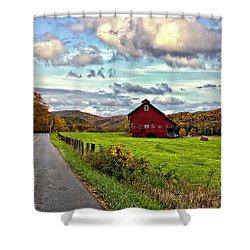 Ah...west Virginia Shower Curtain by Steve Harrington