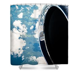 Tropical Skies Shower Curtain by Parker Cunningham