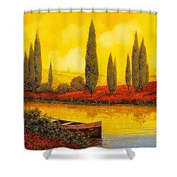 Al Tramonto Shower Curtain by Guido Borelli