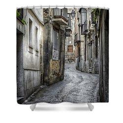 Alfileritos Shower Curtain by Joan Carroll