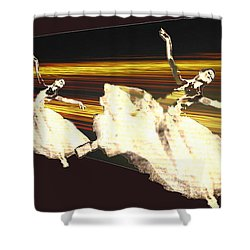 Alive In The Music Shower Curtain by Seth Weaver