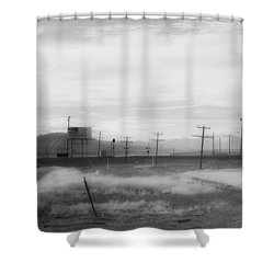 All American Landscape Shower Curtain by Hugh Smith