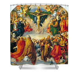 All Saints 1511 Shower Curtain by Philip Ralley